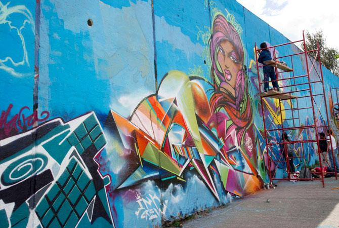 En la actualidad encontramos 3 tipos de graffiti dependiendo de cómo se ejerce, el legal, que se desarrolla en un spot[1] permitido con fines publicitarios