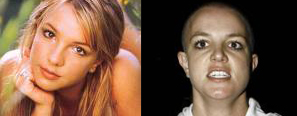 Britney antes y despues