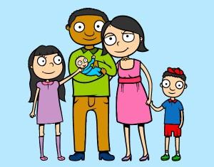 familia-unida-familia-pintado-por-bau28-9792170